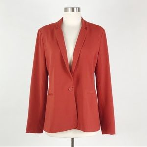 Banana Republic | Rust Orange Blazer Career Jacket